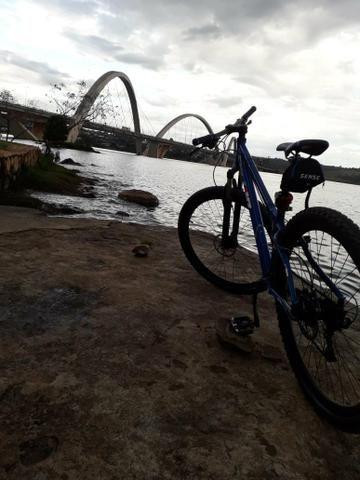 Bicicleta aro 29 nova! pra ir logo,passo cartão - Foto 3