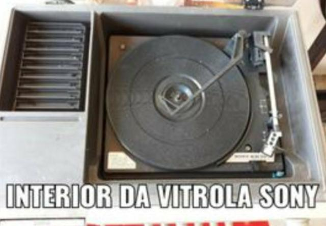 Vitrola Sony e Gradiente - Foto 2
