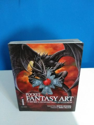 Livro Pocket Fantasy Art - Foto 6