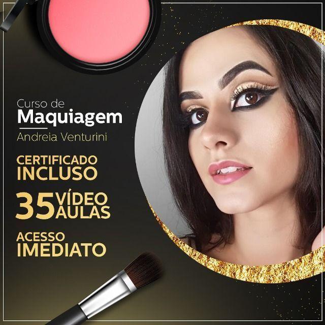 Curso completo Maquiagem na Web - Andréia Venturini