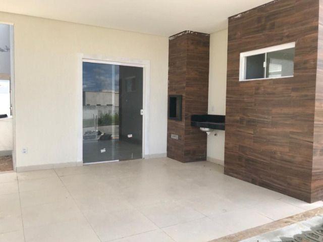 Casa - Ecoville 1 - 121m² - 3 suítes - Churrasqueira - 2 VGS