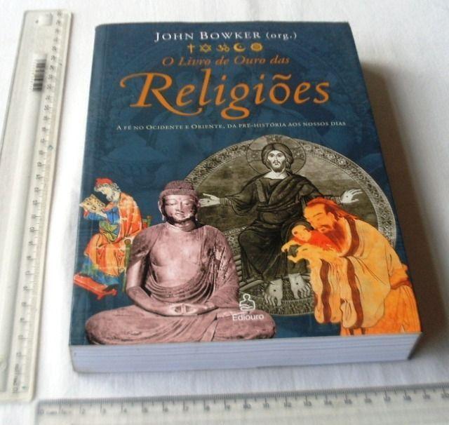 Livro Religioso - O Livro de Ouro das Religiões - John Bowker - 2004 - Foto 2