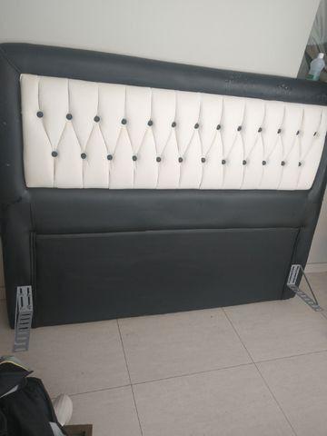 Cabeceira para cama box ( Tipo 1,58 x 1,98 m - Queen Size )