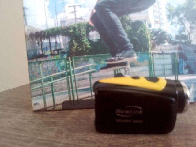 Mini Câmera New Link (Usada Nova ) - Foto 2
