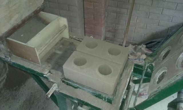 Kit de peças p/ prensa dupla tijolo ecológico 25x12,5cm