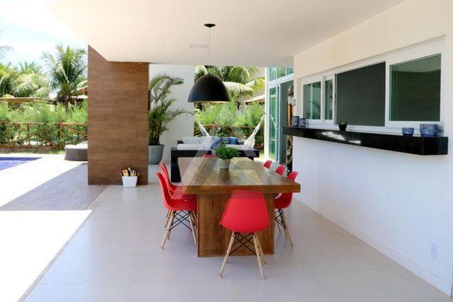 Casa de luxo mobiliada 6 quartos em Guarajuba/Camaçari-BA - Foto 7
