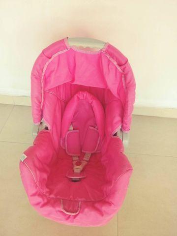 Bebê conforto Galzerano rosa