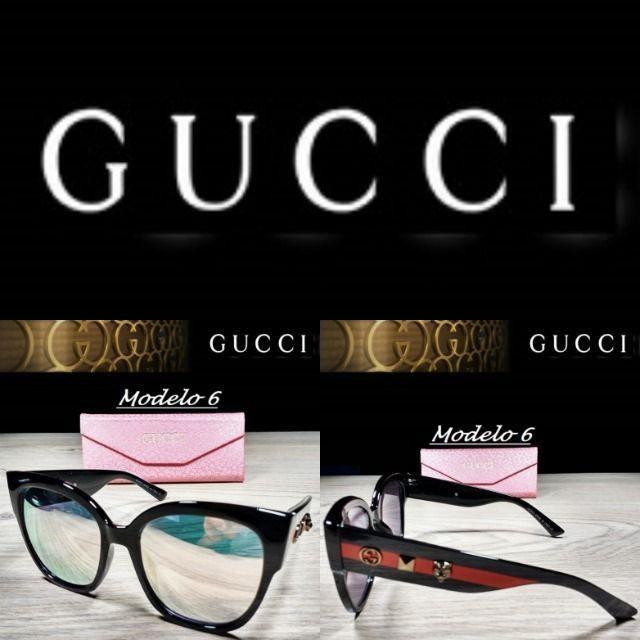 Óculos Feminino Gucci 8311 Retangular com Proteção UV - Foto 6