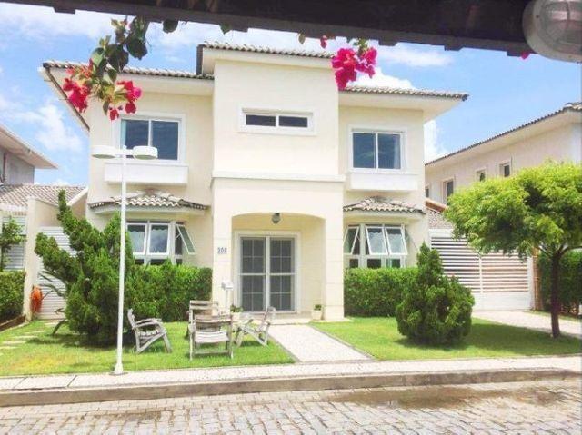 Ca0671 ?Víllagio Riviera?,330m²,4 suítes, 4 vagas, Nas dunas, casa em condomínio - Foto 2