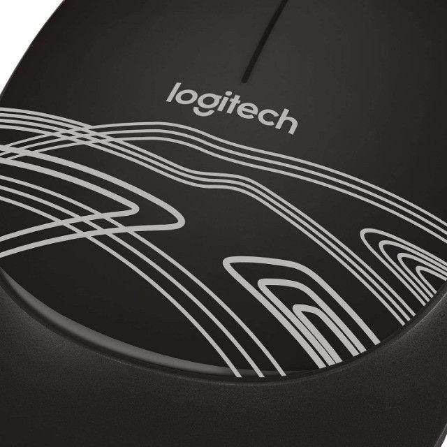 Mouse Logitech M105 USB Preto - 910-002958 - Foto 5