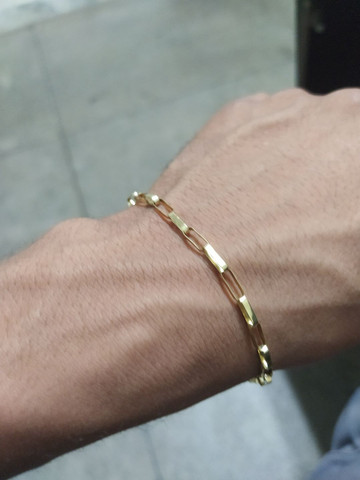 Pulseira de ouro 18 k - Foto 4