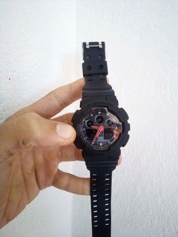 Relógio Casio G-Shock GA100 A prova d'água