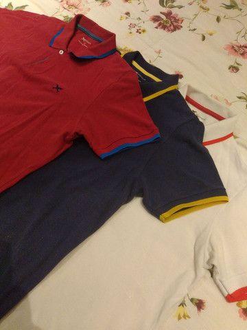 Camiseta Gola Polo HERING