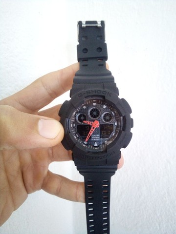 Relógio Casio G-Shock GA100 A prova d'água - Foto 5