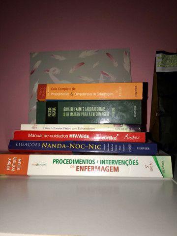 Livros p/ área da saúde