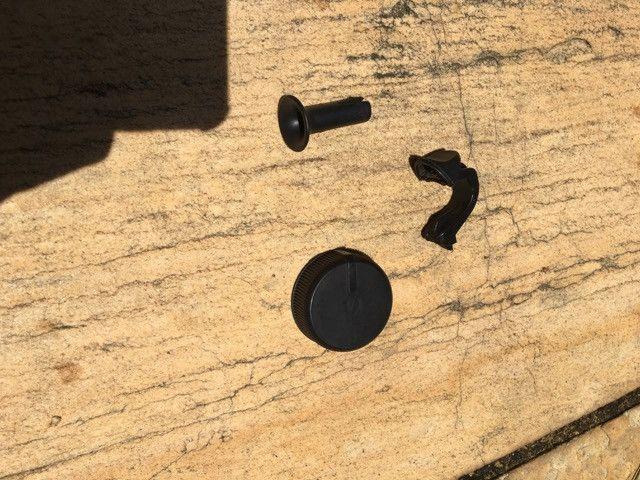 Ventilador Arno VF-40 Silence Force - peças - Foto 4