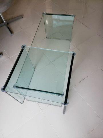 Mesa de Centro (todo de vidro) - Foto 5