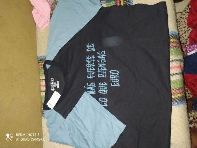 Camisetas masculino e feminino  - Foto 6