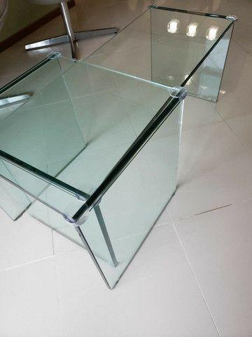 Mesa de Centro (todo de vidro)