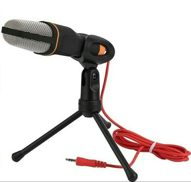 Microfone Condensador Profissional Omnidirecional SF-666 - Foto 2