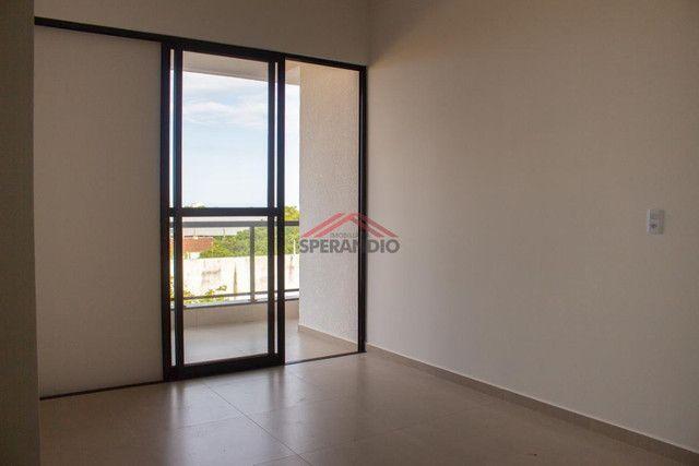 Edifício Vivere - Apto novo, 01 suíte + 02 quartos, 02 garagens, aceita veículo, na Avenid - Foto 4