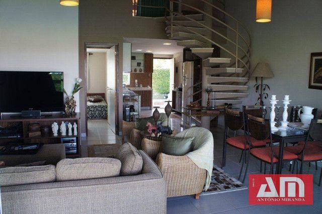 Vendo Excelente Flat mobiliado em condomínio com estrutura de lazer em Gravatá. - Foto 3