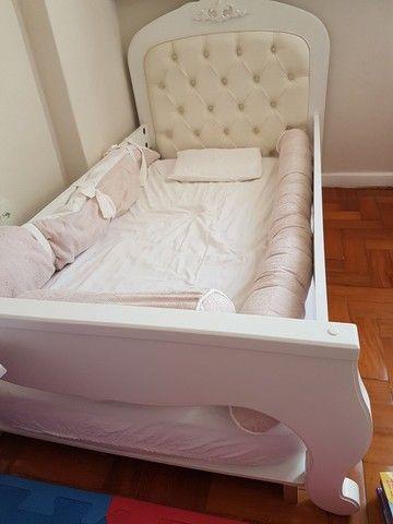 Berço que vira mini cama da Puppi Móbile, muito bem conservado.  - Foto 3