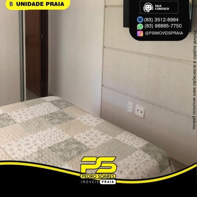 Apartamento com 1 dormitório para alugar, 40 m² por R$ 2.200/mês - Tambaú - João Pessoa/PB - Foto 4