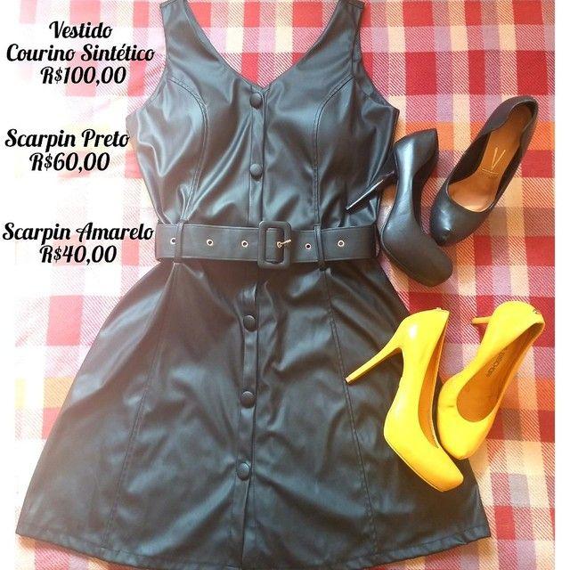 Vendo Vestido e Scarpins