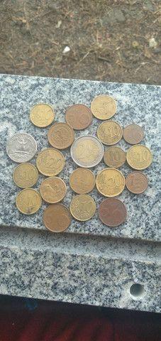 Pra vc q gostar de colecionar moedas de outros países