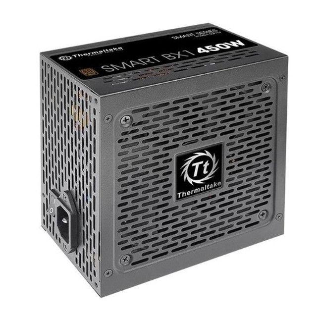 Fonte 450W Thermaltake smart bx1 80+bronze (Novo na caixa) - Foto 4