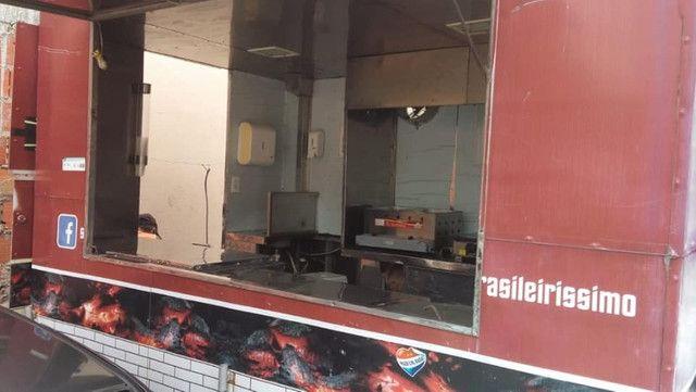 Trailer Food Truck Completo Top 3x2 - Aceito Carro na troca