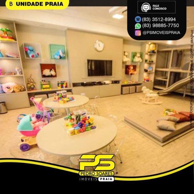 Apartamento com 2 dormitórios para alugar, 50 m² por R$ 3.000,00/mês - Tambaú - João Pesso - Foto 10