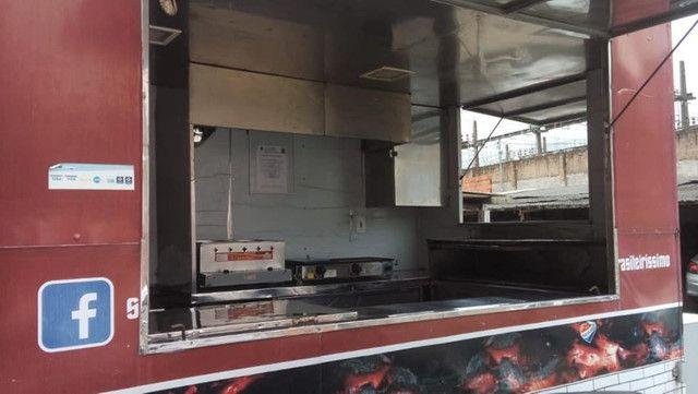 Trailer Food Truck Completo Top 3x2 - Aceito Carro na troca  - Foto 4