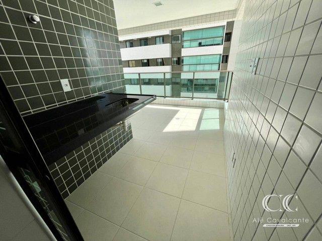 Apartamento com 3 dormitórios à venda, 114 m² por R$ 950.000,00 - Guaxuma - Maceió/AL - Foto 9