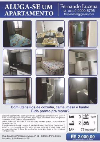 Excelente apartamento em Manaíra