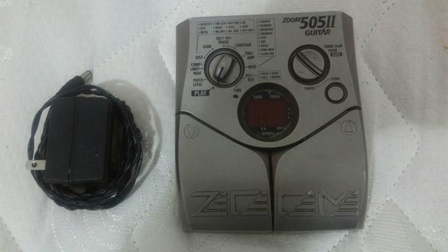 Pedaleira zoom 505ll