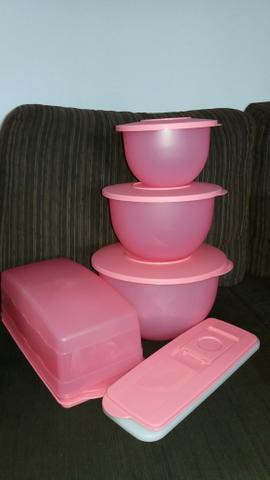 Kit Murano Quartzo Rosa Tupperware
