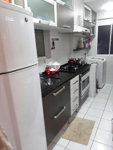 Apartamento na Fazendinha, área central, reformado e semimobiliado 189.000. Financia - Foto 7