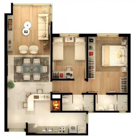 Apartamento com 2 dormitórios à venda, 86 m² por r$ 873.690,41 - bavária - gramado/rs - Foto 14