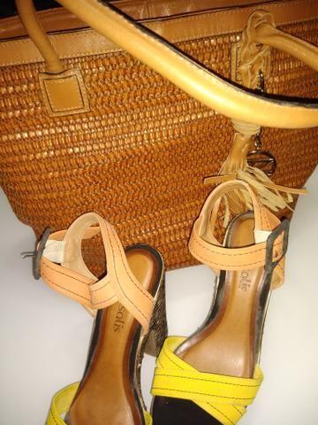 Bolsa arezzo e sapato combo - Foto 3