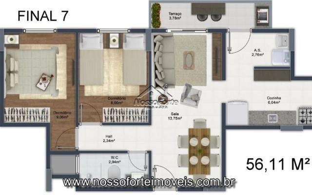Lançamento Apartamento na Mirim em Praia Grande - Foto 17