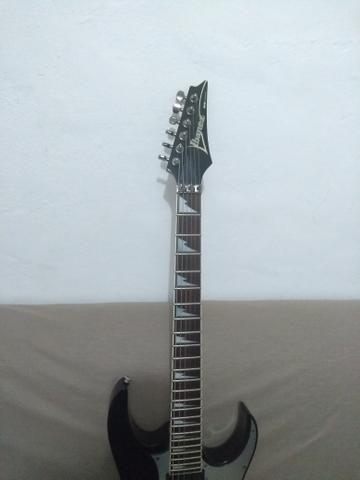 Guitarra ibanez rg350 aceito pedais pedaleira - Foto 6
