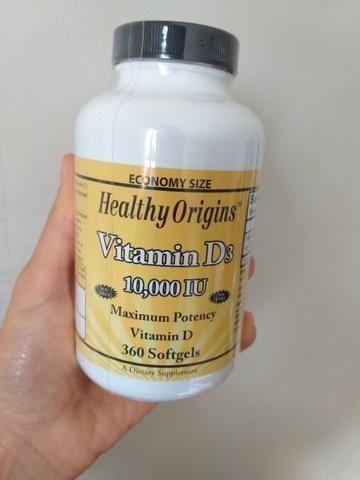 Vitamina D3 10,000ui Health Origins