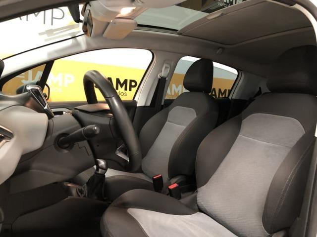 Peugeot 208 Allure 1.5 Flex Mecânico 2014 - Teto solar + GPS - - Foto 15