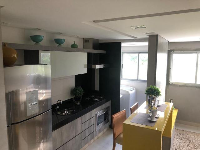 Apartamento 2qts 1suite 1vaga, alto padrao, lazer, prox shopping Buriti, ac financiamento - Foto 4