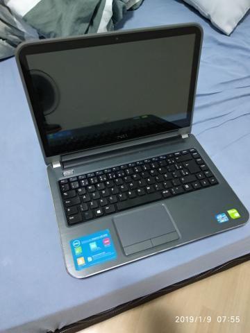 Notebook Dell 14r 3650 i5 8gb RAM, GeForce GT730M 2GB, 120gb SSD SanDisk + 1TB HD, TOUCH