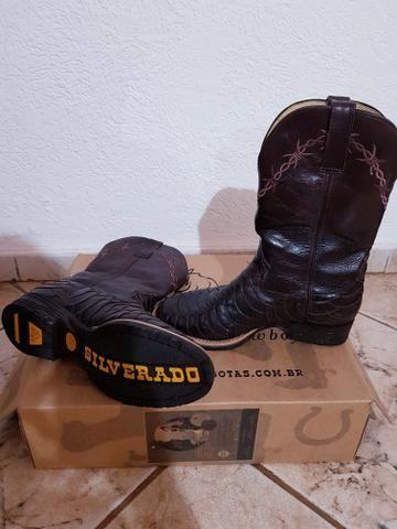 072a5b4bdd Bota texana escamada n°40 - Roupas e calçados - Alto da Boa Vista ...