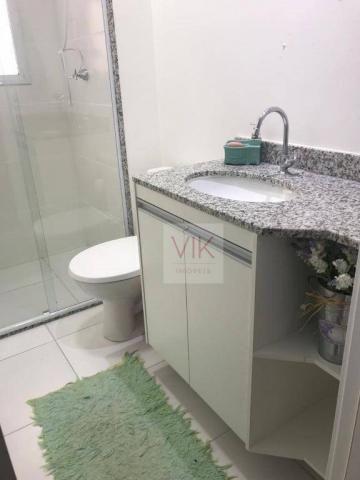 Apartamento com 2 dormitórios para alugar, 86 m² por r$ 2.400/mês - jardim ypê - paulínia/ - Foto 11