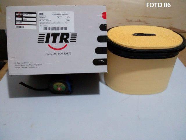 Conjunto do Filtro de Ar do Motor Caterpillar Referencia Original 2525001 + 2525002 - Foto 2